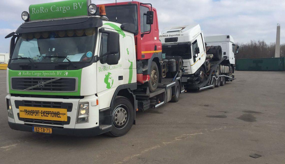 Vrachtwagen transport